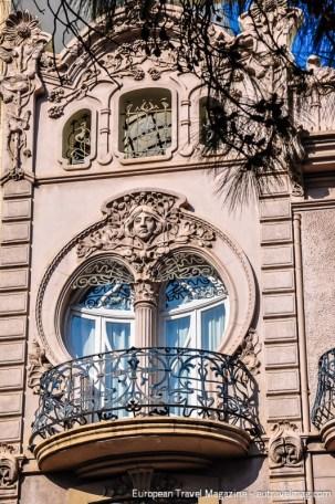 Casa Ortega at Gran Via del Marqués del Túria no. 9