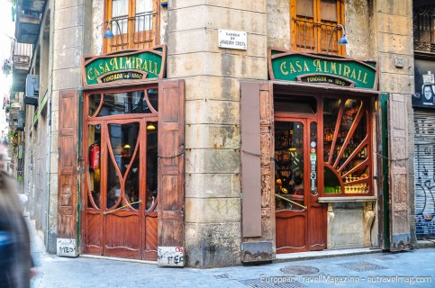 Casa Almirall has been around since 1860 and keeps serving cava and culture to this generation of Barcelonians