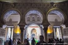 Salón de los Embajadores was definitely made to impress and provoke