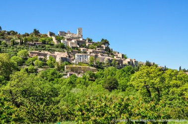 Lacoste and the former castle of Marquis de Sade