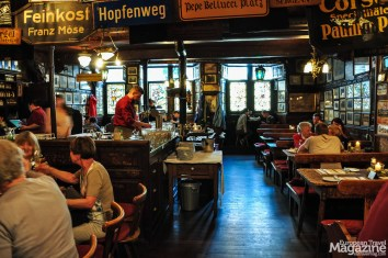 """One of our favourite places is the historic restaurant """"Zum Seppl"""""""