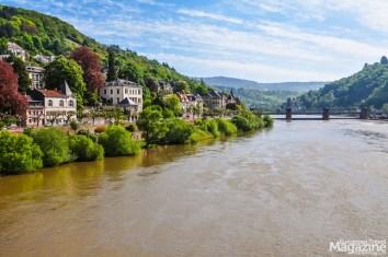View to Neckar river