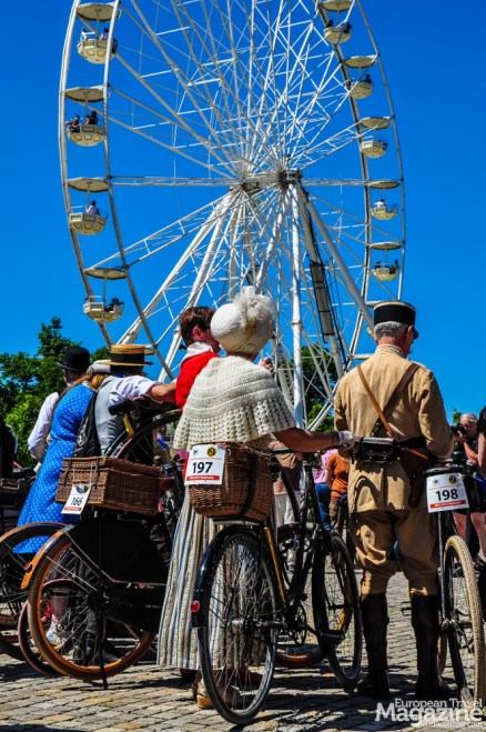 Not only the bikes, but the whole attire is historically acurate