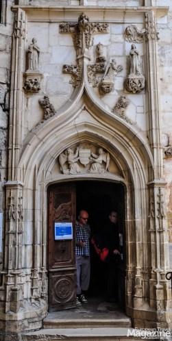 Entrance to Chapelle de Notre-Dame