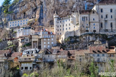 The magical town of Rocamadour, where Durandal is supposed to rest