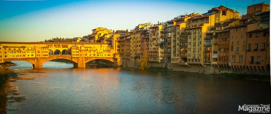 The Medici family removed the butchers from Ponte Vecchio, so they didn't have to suffer the stench
