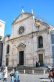 Don't be fooled by the the modest facade of the Santa Maria del Popolo church