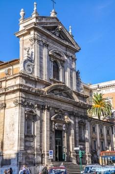 Santa Maria della Vittoria is another unassuming church in Rome with a splendid interior