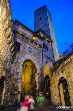 San Gimignano is captivating at nighttime
