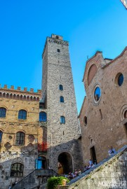 The Torre Grossa is the highest tower of San Gimignano - and you get all the way to the top!