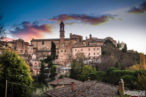 "Montepulciano was used as stand-in for Volterra in the teenage vampire movie ""Twilight"""