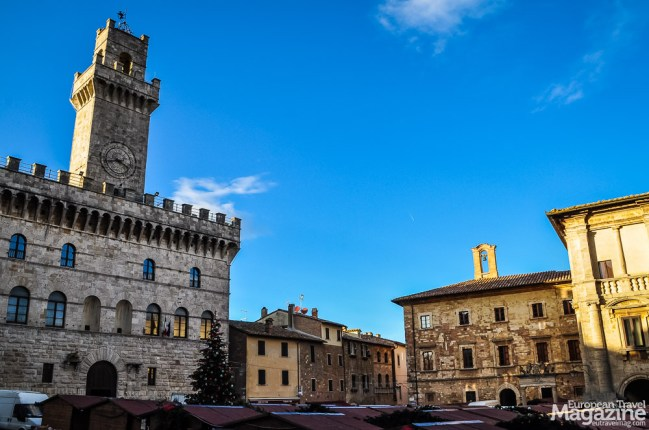 """This typical Tuscan town hall """"Palazzo Comunale"""" was designed in the tradition of Palazzo Vecchio in Florence"""