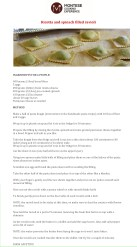 The recipe for ravioli with spinach and ricotta