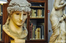 The director of the Uffizi sponsored the purchase of the library belonging to the architect Giuseppe Salvetti