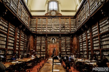 Biblioteca Marucelliana is one of the few buildings that were actually built to house a library