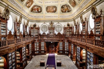 A cathedral for the bibliophile: Biblioteche Riunite is not only a precious baroque testament but has a rich collection of books