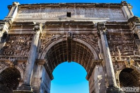Everywhere you go inside the Forum, you encounter epic monuments like the 1800-year-old Arch of Septimius Severus.