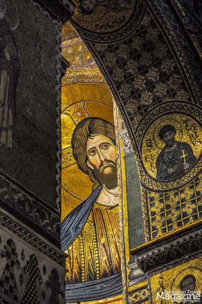 The Byzantine mosaics are marvelous