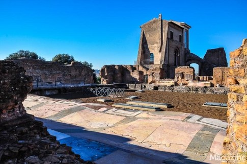 It may be hard to visualize the palatial buildings when you walk among the ruins, which is why we recommend a guide