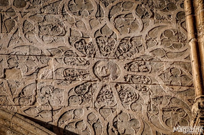 Amazing details of the Arab-Norman cathedral and its 16th-century portal