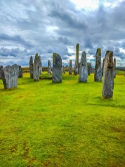 The Callanish Stones on the Isle of Lewis are among the best known stone henges in northern Scotland. Photo by Dave Davis