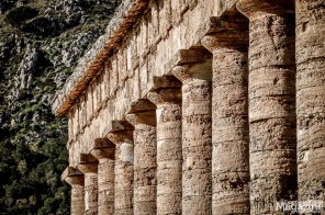 The Greek Temple was built approx 2500 years ago by an architect from Athens