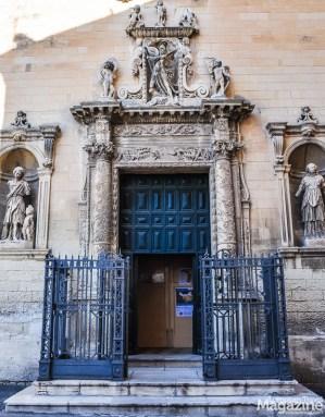 The Chiesa e Convento della Madre di Dio might not look like a church, but its main portal is equally impressive