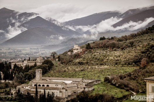 The landscape that surrounds Spoleto may have changed its face a bit, but its soul remains the same