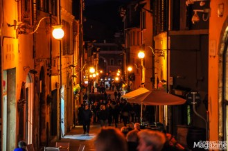 Corso Giuseppe Garibaldi is also very popular during the evening passeggiata