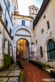 Here, you can really feel the ancient ambiance of Spoleto