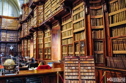Biblioteca Angelica is the second oldest library in Italy open to the public