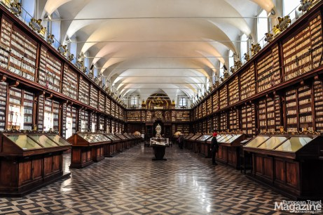 Not only is the Ancient Hall free to visit and open to the public, they have a selection of books on display in the many showcases