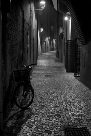 Charming dark alley