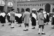 Musicians at Piazza Maggiore