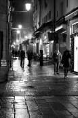 Rainy and cold night