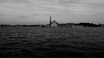 At distance, the beautiful image of Chiesa di San Giorgio Maggiore