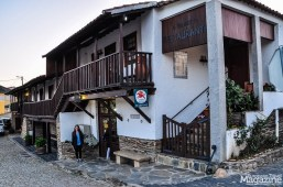 The restaurant is situated in a typical Transmontana house