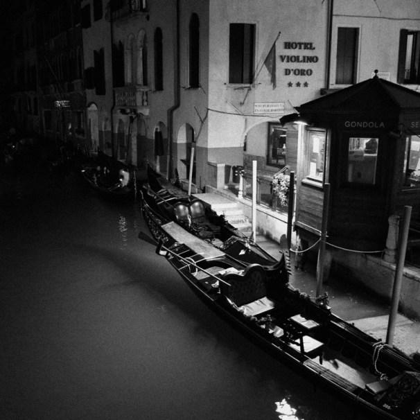 Late night near Hotel Violino D'Oro