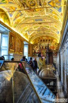 The museums house great artistic masterpieces which were commissioned and protected by the Popes