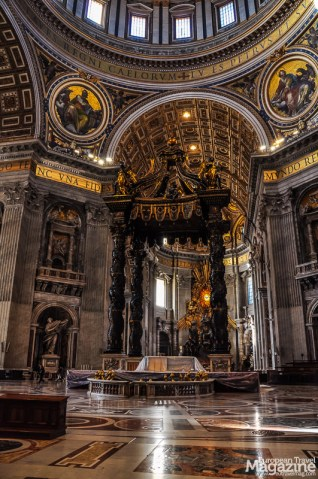 The most important tomb is the one beneath it all: The Tomb of St. Peter himself
