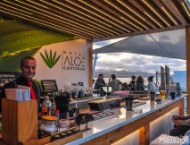 Crowning the 8th floor of Hotel Aloe Canteras, their Rooftop Bar Terraza Tamarán is open to everyone