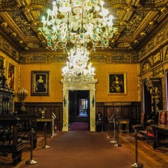 The Florentine Room is a study in Italian Renaissance