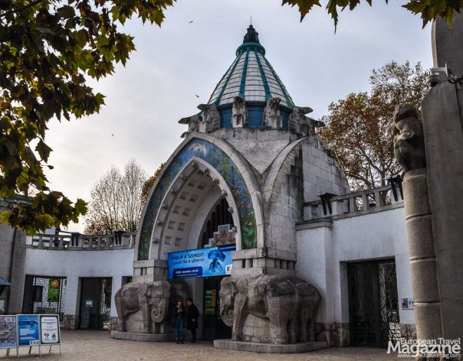 Budapest Zoo has some surprising and playful Art Nouveau architecture