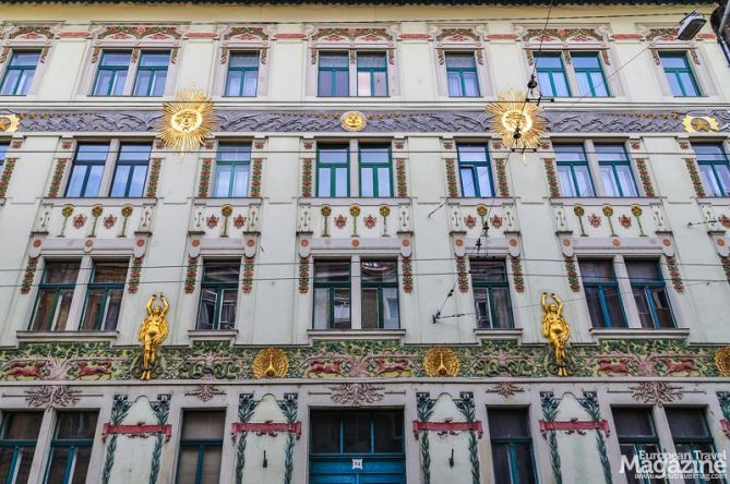 The first Hungarian architect to look to art nouveau for inspiration is said to be Frigyes Spiegel, who designed The Lindenbaum House in 1896