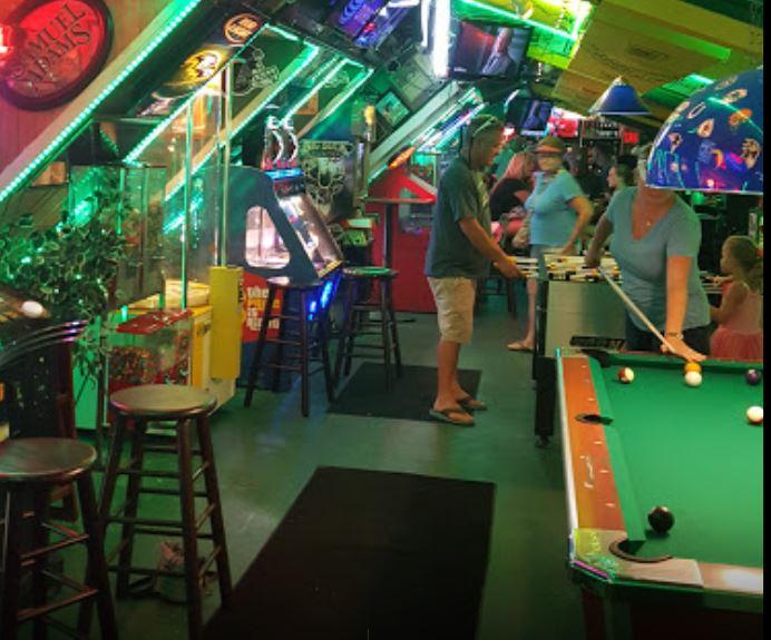 Game Room in Greene Turtle