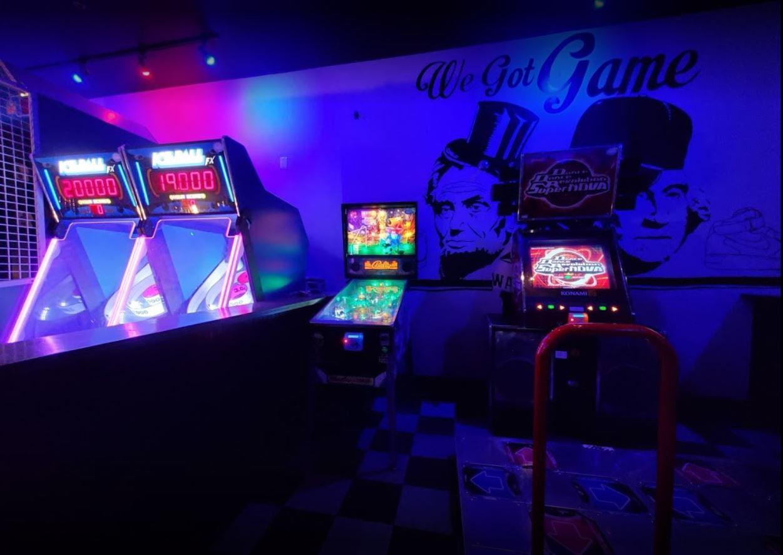Skee-ball and arcade games
