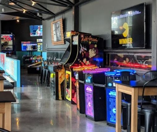 Coin-operated Games in DC Restaurant