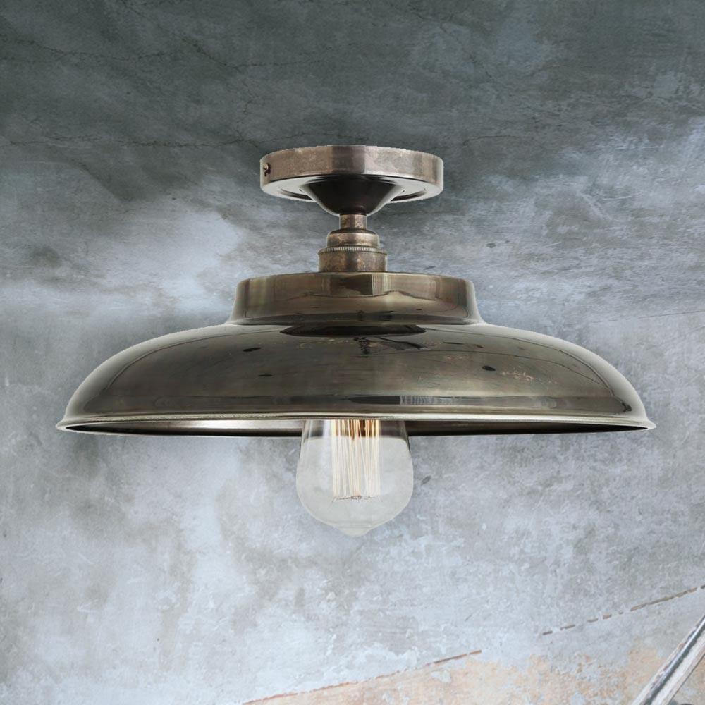 industrial farmhouse flush mount light 38736 e2 contract lighting uk