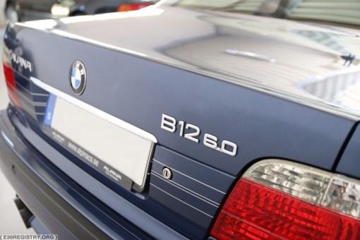 (For Sale) – Alpina B12 6.0 SWB – #3