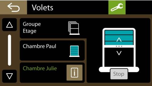 E3C Domotique : Volets Roulants Delta Dore